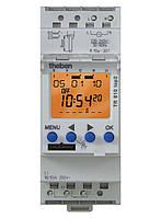 Цифровое недельное реле времени таймер с резервом питания Theben TR 610 top 2 на DIN-рейку th 6100100
