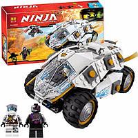 Внедорожник Титанового Ниндзя Bela Ninja 10523, 362 детали, 3 фигурки, летательный модуль, пушки