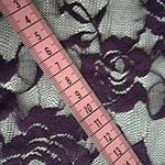 Гипюр фиолетовый стрейч  трикотаж , арт 40, фото 3