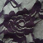 Гипюр фиолетовый стрейч  трикотаж , арт 40, фото 2