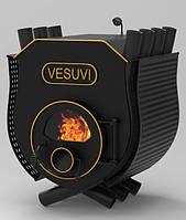 Булерьян с плитой Vesuvi «О2» 18 кВт стекло и перфорация