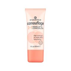Essence camouflage 2 in 1 make-up & concealer