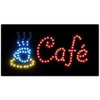 Светодиодная рекламная панель КАФЕ(33*55*1,5)