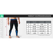 Компрессионные штаны Peresvit Air Motion Compression Leggins Black, фото 3