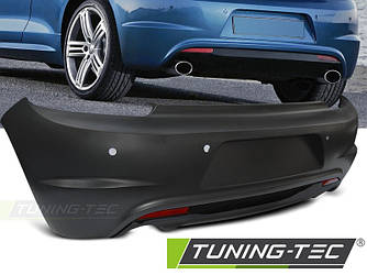 Задний бампер тюнинг Volkswagen VW Scirocco в стиле R