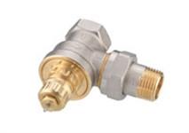 Термостатичний клапан RA-G для однотрубних систем, DN15, кутовий