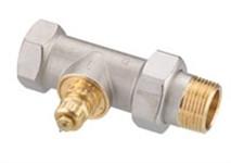 Термостатичний клапан RA-G для однотрубних систем, DN25, прямий