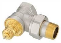 Термостатичний клапан RA-G для однотрубних систем, DN20, кутовий