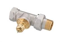 Термостатичний клапан RA-G для однотрубних систем, DN20, прямий;
