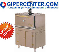 Угольная печь Josper HJX45 L (930х600х1320 мм, решетка 760х510 мм, расход угля за 8 часов 17 кг)