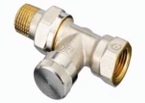 Клапан RLV Ду15 прямий нікелевий;