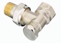 Клапан RLV-S Ду15 кутовий нікелевий;