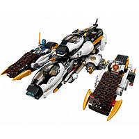Sy593 Ninja, аналог Лего 70595 Внедорожник с суперсистемой маскировки, 1168 деталей, 7 фигурок, самолет