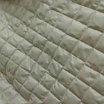 Плащевка  бежевая стеганая с синтапоном для пошива курток ., фото 4