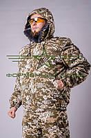 Куртка камуфляжная зимняя пиксель ЗСУ, фото 1