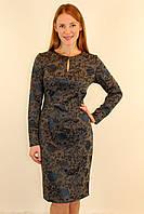 Нарядное платье со змейкой сзади 46-48 р