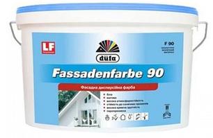 """Краска водоэмульсионная, фасадная """"Dufa"""" F90 (10 л)"""