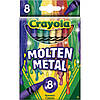 Блестящие восковые мелки карандаши Meltdown, Crayola (крайола)