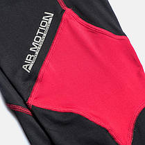Компрессионные штаны Peresvit Air Motion Compression Leggins Black Red, фото 2