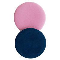 Набор спонжей латексных двухцветных круглых (в ассортименте), 2 шт NEW