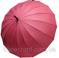 Стильный механический женский зонт-трость Doppler 74163DWR красный