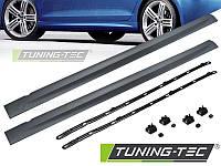 Накладки на пороги тюнинг обвес Volkswagen VW Golf 6 в стиле R20