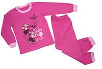 Пижама для девочки с начесом оптом Минни, фото 1