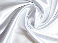 Ткань Атлас-стейч Белый