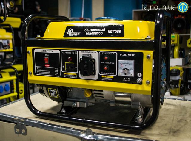 Бензиновый генератор Кентавр КБГ 089 фото 1