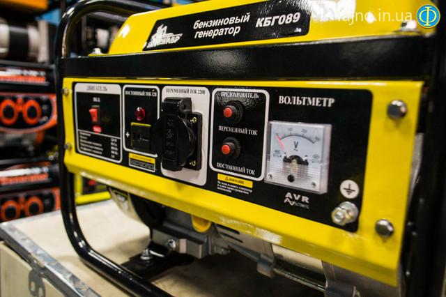 Бензиновый генератор Кентавр КБГ 089 фото 2