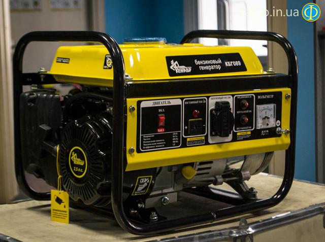 Бензиновый генератор Кентавр КБГ 089 фото 8