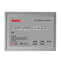 """Твердотельный накопитель Kingspec 128GB 1.8 """"5мм ZIF SSD КСД-ZF18.6-128MS, фото 1"""