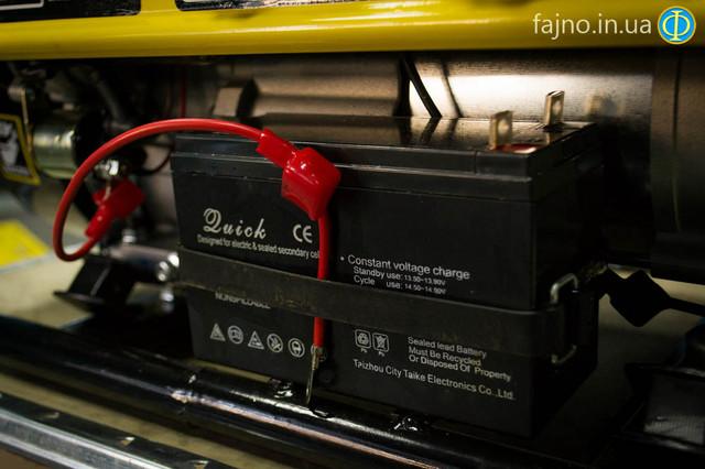 Бензиновый генератор Кентавр КБГ 258Э фото 8