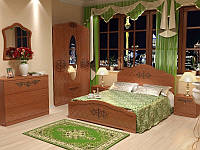 Спальня Лючия орех светлый