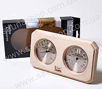 Термометр-гигрометр для сауны Sawo 221-THAD ольха
