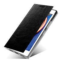 Черный кожаный чехол книжка MOFI для Lenovo P70, фото 1