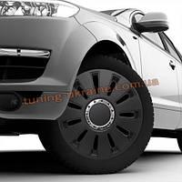 Автомобильные колпаки на колеса ARGO Silverstone pro black R13