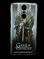 Чехол накладка для Lenovo Vibe K5 Note A7020 силиконовый с рисунком, Game of Thrones Stark