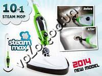 Паровая швабра пароочиститель Steam Mop X10 (Стим Моп Икс 10), фото 1