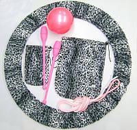 Набор чехлов для гимнастики. Цвет леопард., фото 1