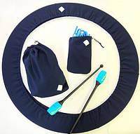 Набор чехлов для гимнастики. Цвет синий., фото 1