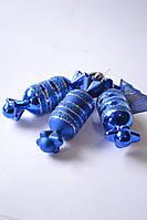 """Игрушки на ёлку """"конфета"""" (8010) 12 см."""