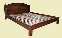 """Кровать деревянна двуспальная """"Марсель 2"""". массив ольхи"""