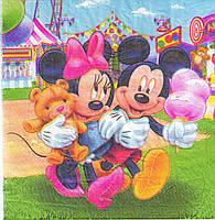 """Купить салфетки бумажные  """"Микки Маус"""", фото 1"""