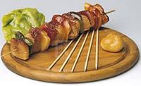 Палочки для шашлыка бамбуковые 25 см. 100 шт/ уп.