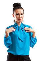 Шифоновые блузки Piana голубой