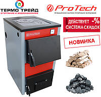 Котел ProTech (Протечь, Протех, Протек) ТТП - 18с D Luxe, с плитой