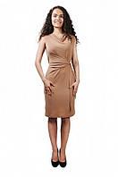 Платье Cliff PL-036 S бежевый