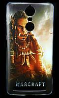 Чехол накладка для Lenovo Vibe K5 Note A7020 силиконовый с рисунком, Warcraft Durotan