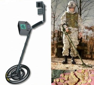 Армейский металлоискатель с распознаванием металлов Аккум AR924